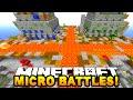 "Minecraft MICRO BATTLES! ""FUNNY GAME!"" #18 - w/ TBNR SQUAD!"