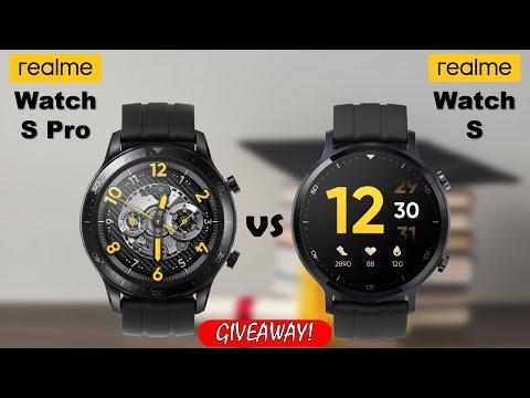 Realme Watch S Pro vs Realme Watch S
