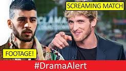 Zayn Malik VS Logan Paul FIGHT! [FOOTAGE] #DramaAlert Jake Paul MAD! JayStation OVER! Onision SPEAKS