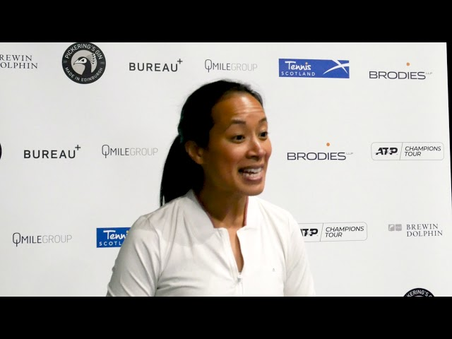 Anne Keothavong | Brodies Tennis Invitational 2019