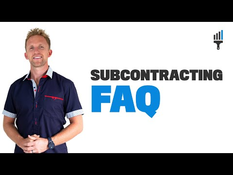Painting Subcontractors - Common Questions & Answers