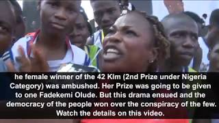 How Organizers tried to cheat Winner of Access Bank's Lagos Marathon contest, Mary Akor