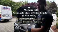 2016 Mercedes S550 Windshield Replacement | Working With Novus Glass of Union County NJ