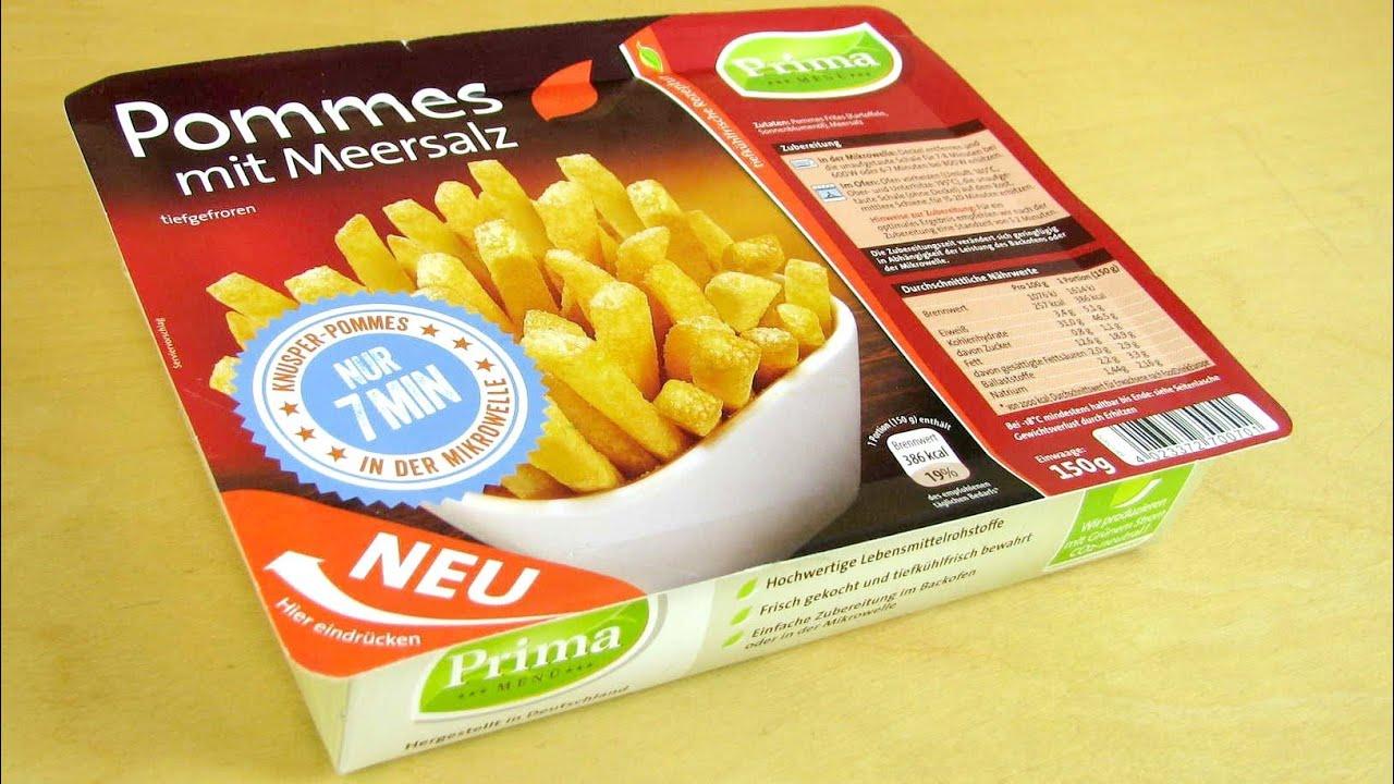 Microwave French Fries [Prima Menü] - YouTube