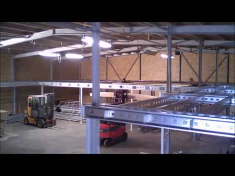 Building a mezzanine floor by Space Solutions