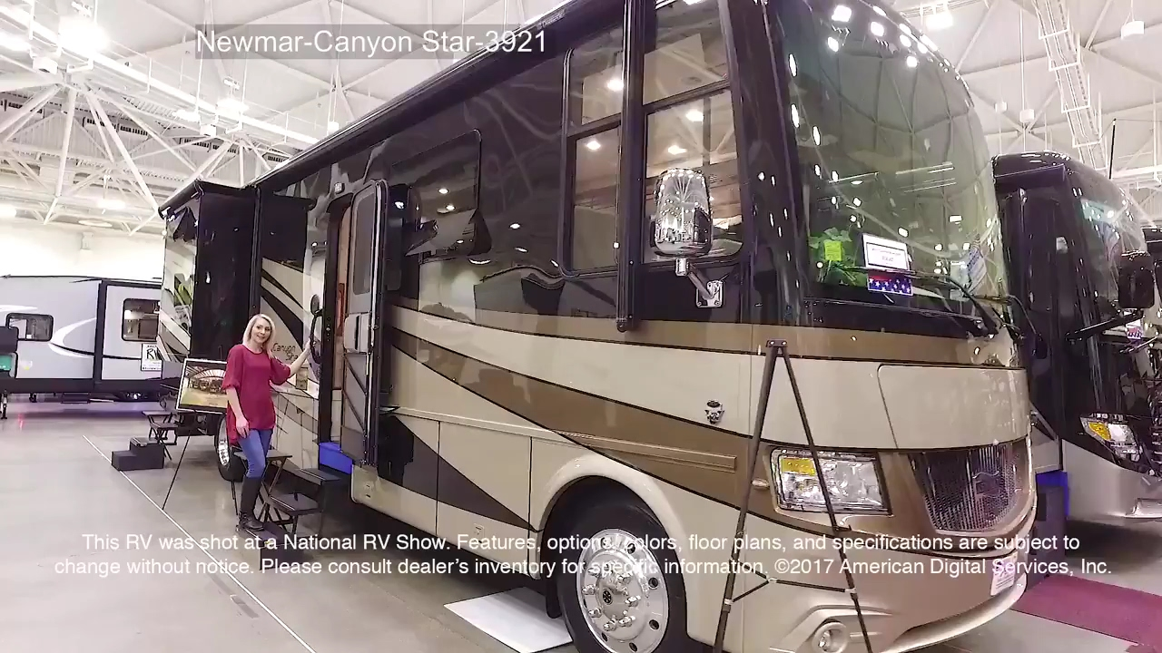 New 2019 Newmar Canyon Star 3927 Motor Home Class A - Toy