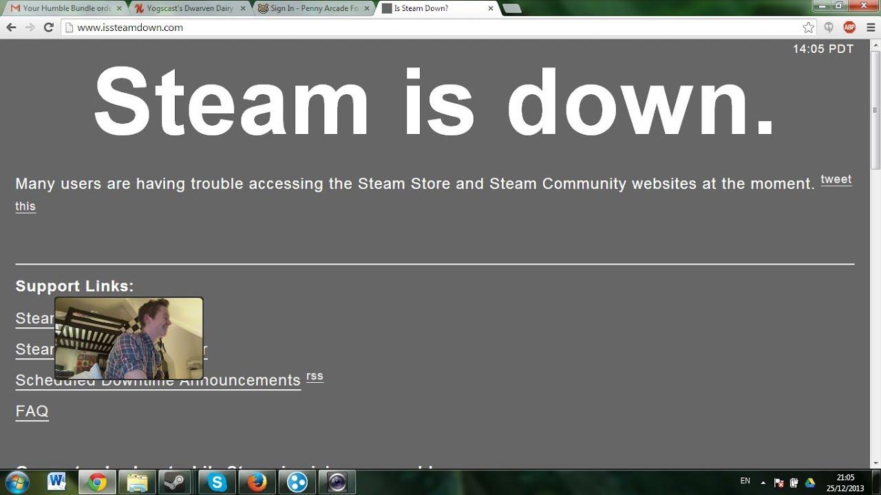 Ist Steam Down