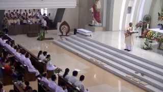 Perayaan paskah bersama  anak anak  ,di Gereja St. Albertus Agung Harapan Indah