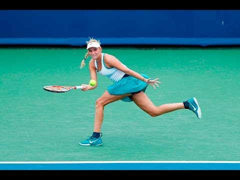 2016 Western & Southern Open First Round | Donna Vekic vs Ana Ivanovic | WTA Highlights