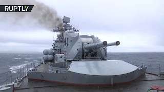 Russia tests the newest air defense missile system in Pacific & Northern Fleet drills