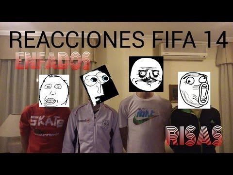 Enfados y Risas xD Reacciones Fifa14 CrazyMasters