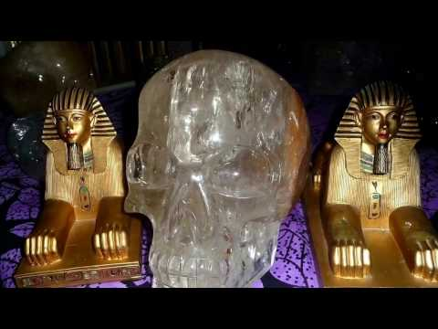 Crystal skull energy