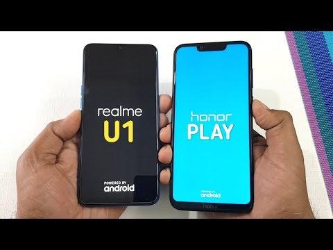 Realme U1 vs Honor Play Speed Test Ram Management Test