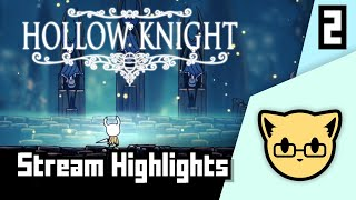 First Try - Hollow Knight JoCat Stream Highlight Part 2