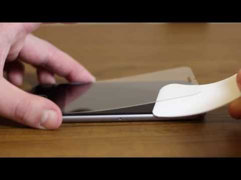 How remove and reinstall used tempered glass film screen protector. iPhone 6 tutorial.