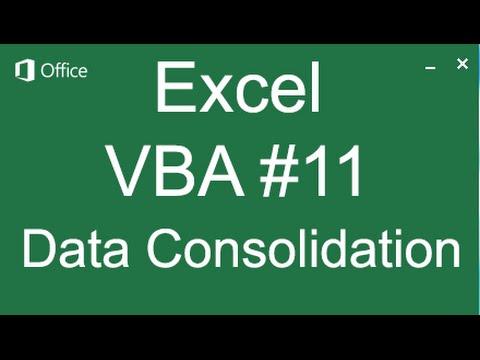 Hướng dẫn VBA 11 Consolidate (copy) dữ liệu từ nhiều báo cáo vào 1 báo cáo tổng không mở báo cáo con
