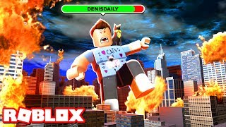 BECOMING A ROBLOX BOSS BATTLE!