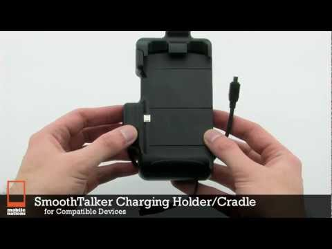 SmoothTalker Charging Holder/Cradle with Antenna Connection for BlackBerry Storm2 9520/9550