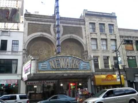 Old theater Newark NJ Market St .Store now 2013