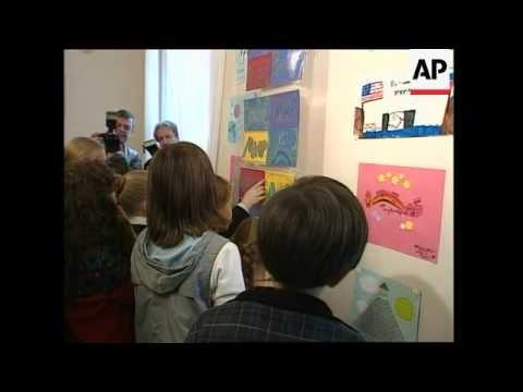 American students mourn Beslan children
