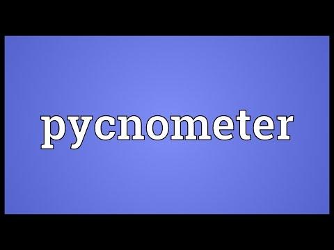Header of pycnometer