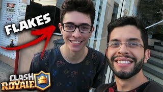 Video INVADI A CASA DO FLAKES POWER PARA JOGAR CLASH ROYALE! download MP3, 3GP, MP4, WEBM, AVI, FLV Agustus 2017