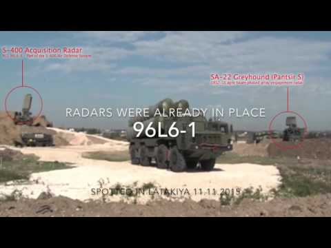 Russian S 400 In Syria