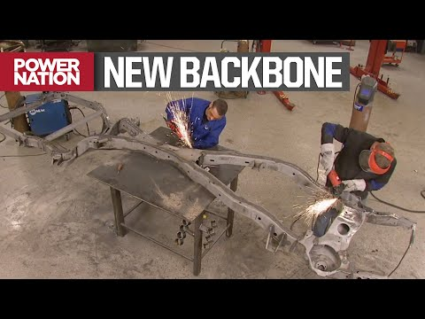 Reinforcing A Stock X-Frame On A Classic Chevy Impala - MuscleCar S3, E9