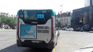 Video (PARIS) BUS 69 - Bastille (RATP) download MP3, 3GP, MP4, WEBM, AVI, FLV Agustus 2018