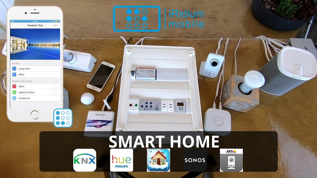 Smart Home Interaction Between Knx Philips Hue Fibaro Sonos Axis