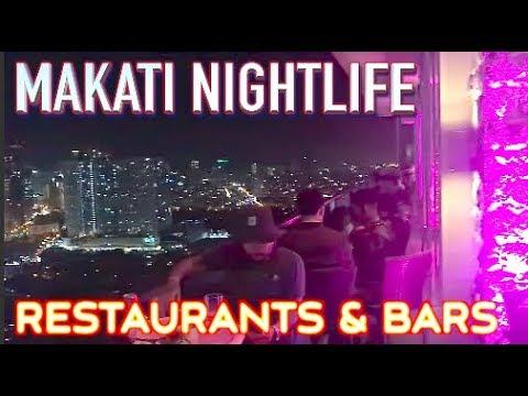 Makati Restaurants Bars and Nightlife Manila Philippines