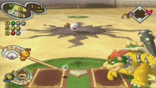 Mario Superstar Baseball - Exhibition Game #8 - Bowser Black Stars @ Yoshi Flutters