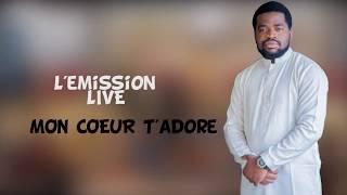 Frère Emmanuel Musongo  dans worship live Mon coeur t'adore Namikabi avec Exaucé et SHEKHINA