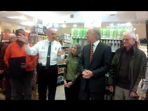 Maryland Comptroller Peter Franchot Visits TPSS Co-op.