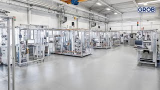 GROB Product Stories – Technology and Application Center E-Mobility