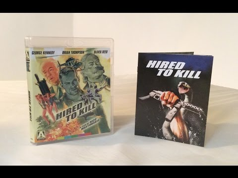 Hired to Kill - Arrow Video - Blu Ray Unboxing and Review