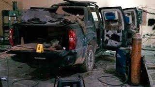 Hallan taller clandestino de blindaje de autos en Tamaulipas