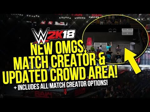 NEW OMG Moments, Skills, Match Creator Options & Crowd Fighting Area Updates!