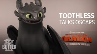 "Toothless ""talks"" Oscars 