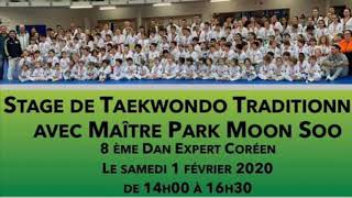 Stage et inter club du Taekwondo master park Saint Laurent du var (1999-2019)