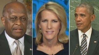 Ingraham, Cain rip Obama