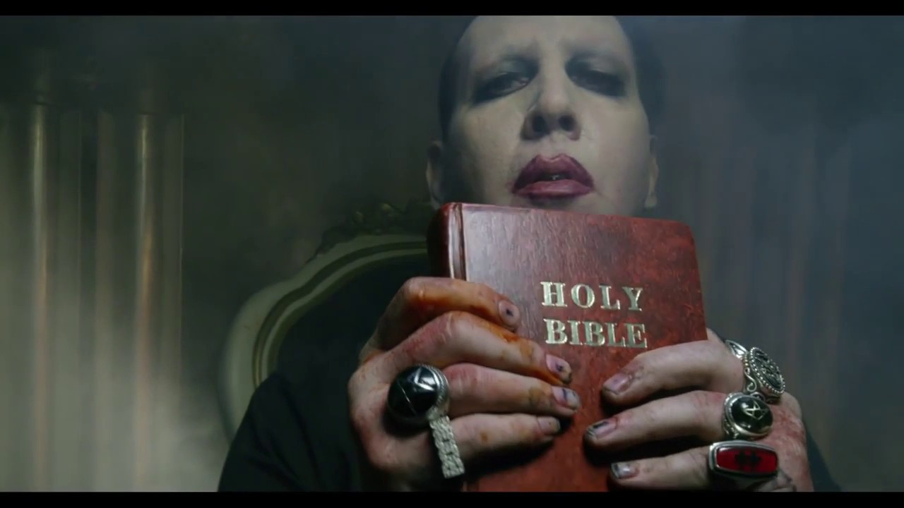 marilyn manson video say10