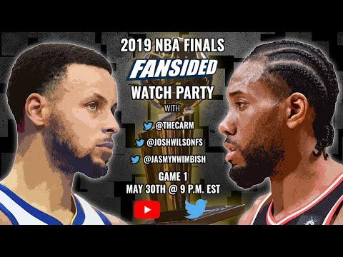 2019 NBA Finals:  Golden State Warriors vs. Toronto Raptors (Game 1)