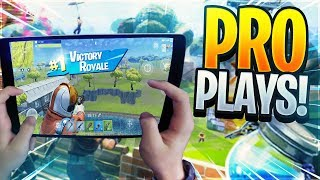 🔴 GRINDING TRICKSHOTS! // 700+ Wins // Pro MOBILE Player // Fortnite Battle Royale