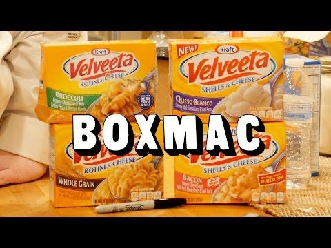 BoxMac 77: Velveeta Broccoli, Bacon, Queso Blanco, And Whole Grain