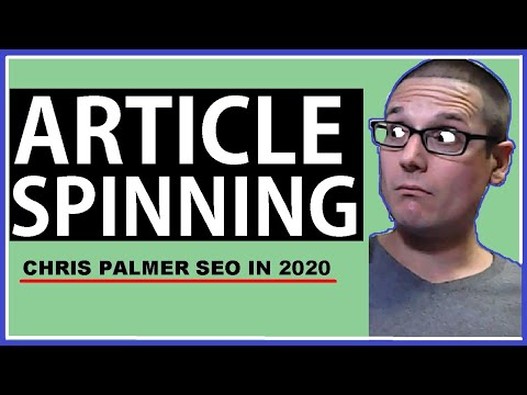 Article Spinning : How To Rewrite Articles 2020