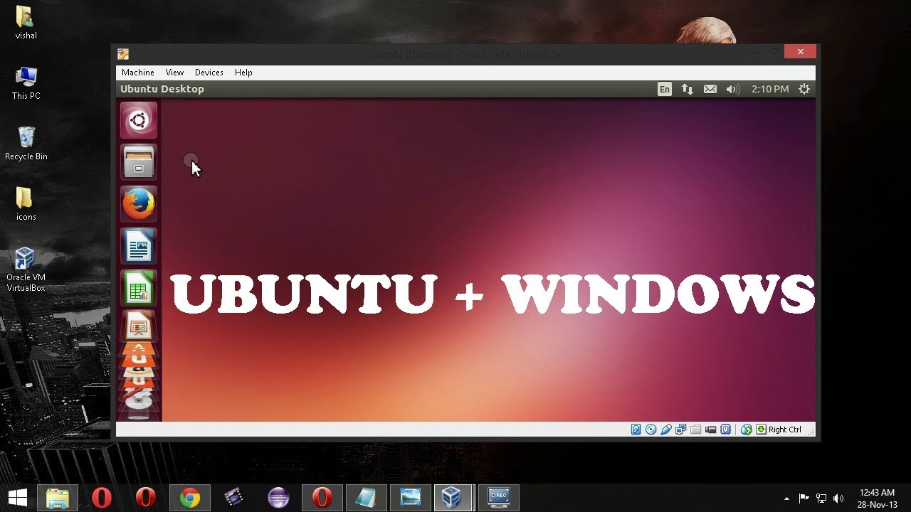 how to install linux on machine
