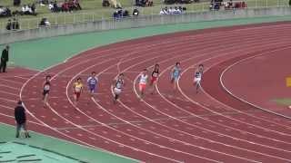 2014年 関東高校 陸上競技 新人選抜大会 男子200m予選2組3組