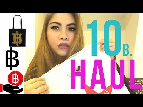 เห่อเปิดถุง SHOPPING ทุกอย่าง 10 บาท : UNDER $1 HAUL | Makaylamook