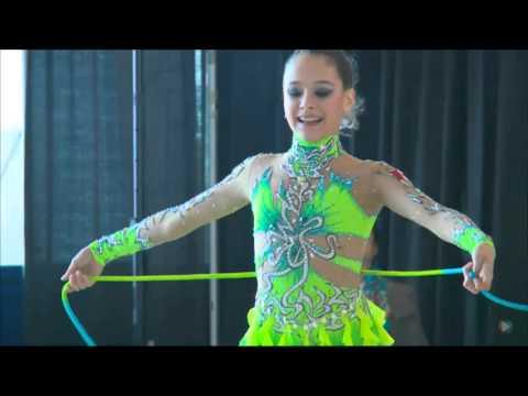 Katherine Savchenko Rope 2016 Rhythmic Gymnastics Elite Canada Championships